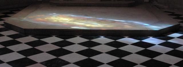 Chapel floor
