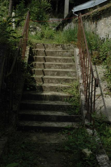 Front court stairway